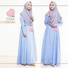 Gamis Amima Zara Dress Baby Blue - baju muslim wanita baju muslimah Untukmu yg cantik syari dan trendy . . Size: S ---> LD 94 | PJG 137 M ---> LD 100 | PJG 140 L ---> LD 106 | PJG 140 . . Detail : - Material : COTTON bahannya flowy adem perfect for mix and match dengan sabina instan motif mu! - Dress kerah bulat  Zipper depan perfect for #busuifriendly #nursingfriendly #gamisbusuifriendly - Kantong di kanan dan kiri untuk menyimpan dompet / HP - Tali pinggang kanan kiri adjustable bisa di…