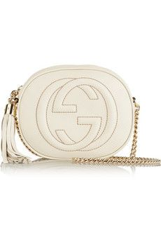 Gucci Soho mini textured-leather shoulder bag | NET-A-PORTER