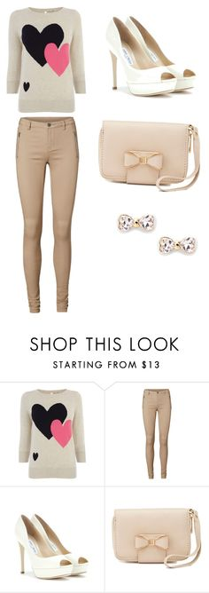 """""""Untitled #83"""" by princess212146 ❤ liked on Polyvore featuring Oasis, Vero Moda, Jimmy Choo, Charlotte Russe and Sole Society"""