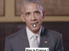 L'attachement de la France de Barack Obama ne date pas d'hier. Comme on pouvait s'en douter, l'ex-Président des Etats-Unis a tenu à soutenir le leader...