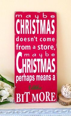 Dr Seuss Quote – How the Grinch Stole Christmas- Typography Word Art | best stuff