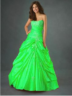 Lime Green Bridesmaid Dress | the future | Pinterest | Green ...