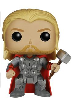Avengers Age of Ultron Thor POP! Wackelkopf Figur 10 cm: Amazon.de: Spielzeug