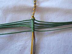 ΦΘΙΝΟΠΩΡΙΝΑ ΦΥΛΛΑ | kentise Collier Simple, Macrame Necklace, Micro Macrame, Diy Tutorial, Arrow Necklace, Knitting, Jewelry, Fiber, Tutorials