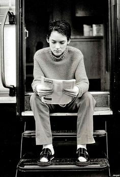 Winona Ryder (Winona Laura Horowitz) - has spent years battling with anxiety and depression. I admire anyone who deals openly with these issues but particularly people who do so within the gaze of the public eye.