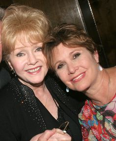 Debbie Reynolds and Carrie Fisher *Exclusive Coverage* ***Exclusive*** (Photo by Bruce Glikas/FilmMagic) via @AOL_Lifestyle Read more: http://www.aol.com/article/entertainment/2016/12/27/actress-carrie-fisher-dead-at-60/21642781/?a_dgi=aolshare_pinterest#fullscreen