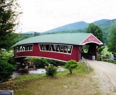 Another New Hampshire Covered Bridge. Pretty cool.