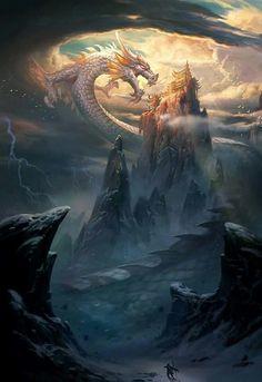 Dragon attack heaven