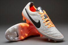 Nike Football Boots - Nike Tiempo Legend V FG - Firm Ground - Soccer Cleats  - Desert Sand-Black-Orange 342a322b3