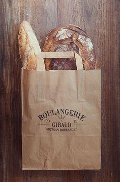 Giraud Bakery Branding on Behance