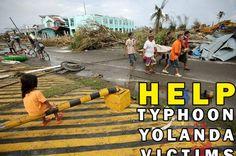 HELP TYPHOON YOLANDA / HAIYAN VICTIMS on GoFundMe - $50 raised by 1 person in 2 days. http://www.gofundme.com/helptyphoonyolandavictims#HelpPhilippines #TyphoonHaiyan #TyphoonYolanda