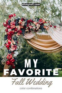 Fall weddings are absolutely beautiful. However, no matter the time of year you are choosing to celebrate your wedding, picking the right color combination will be key. And fortunately, there are a lot of gorgeous fall wedding color combinations Fall Wedding Mums, Fall Wedding Colors, Floral Wedding, Indian Wedding Decorations, Wedding Centerpieces, Wedding Bouquets, Wedding Color Combinations, Brown Color Schemes, Modest Wedding Gowns