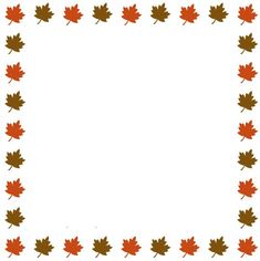 microsoft free fall clip art downloads page border made of autumn rh pinterest com free autumn clip art borders