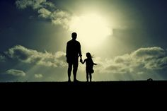 Father and Daughter Daddy Daughter Quotes, Father Daughter Photos, To My Daughter, Mother Daughters, Tu Me Manques Papa, Father's Day Drawings, I Miss You Dad, Father Tattoos, Shadow Photos