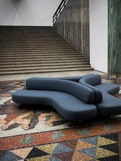 Fashionable chaise lounge sofa design that will impress you Chaise Lounges, Lounge Sofa, Sofa Set, Lobby Furniture, Sofa Furniture, Living Room Furniture, Furniture Movers, Modular Furniture, Design Furniture