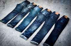 Denim Evolution - Such a killer collection! #RawDenim #SelvedgeDenim ⓀⒾⓃⒼⓈⓉⓊⒹⒾⓄⓌⓄⓇⓀⓈ ★★★★★★★★★★★★★★★