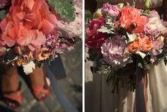 FLÓRA Floral Botanical Atelier / summer / wedding / coral / paeonia