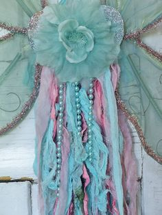 Large fairy wings whimsical wall decor shabby by AnitaSperoDesign, $75.00