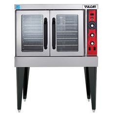 Vulcan VC3E Electric Convection Oven, Single Deck, 240V with Legs