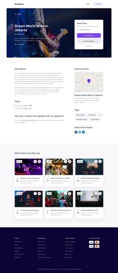 png by Andrew Walter Web Design Websites, Site Web Design, News Web Design, Website Design Layout, Homepage Design, Web Design Services, Web Layout, Wireframe Design, Web Ui Design