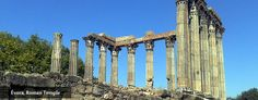 #Roman #Temple from the first century. A live monument in #Évora, #Portugal