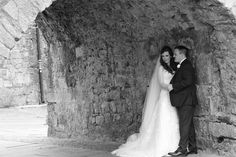 The couple under the Spanish Arch Wedding Advice, Post Wedding, Wedding Couples, Fall Wedding, Ireland Wedding, Irish Wedding, Christmas Day Celebration, Wedding Planner, Destination Wedding