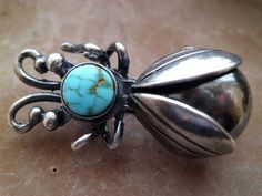 Classic Ladybug Pin - unknown age or maker.