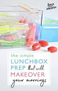 If Prep Has Always Been A Dirty Word For You, You Have To Check Out This Super Simple System That Will Completely Transform Your School Mornings Totally Do-Able Even If You're Time Poor And Can't Stand Being In The Kitchen. Via Karenschrav School Lunch Box, School Lunches, Life Hacks For School, Diet Plans To Lose Weight, Meatless Monday, Back To School, School Stuff, Cooking Tips, Super Easy