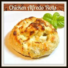 Chicken Alfredo Rolls and a Great Giveaway