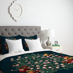 Iveta Abolina Ruby Dusk Duvet Cover | DENY Designs Home Accessories