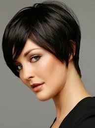 Resultado de imagen para corte de cabello corto mucho y duro para mujer gordita