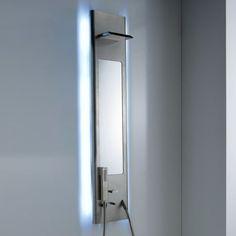Treemme | Aufputz-Duschpaneel Pao Spa | Design: Giancarlo Vegni | verschiedene Oberflächen wählbar