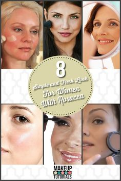 Best Makeup For Rosacea, Rosacea Makeup, Best Anti Aging, Anti Aging Skin Care, Makeup Over 40, Flawless Skin, Everyday Makeup, Looking For Women, Healthy Skin