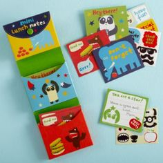 make a note of it - lunch box note cards