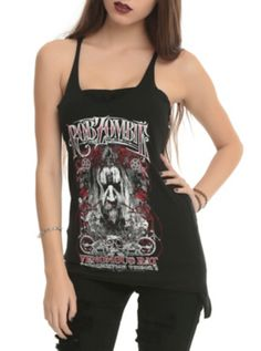Rob Zombie Venomous Rat Regeneration Vendor Girls Tank Top
