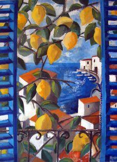 "Didier Lourenço (Spanish, b. 1968) - ""Lemons"""