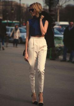 Тренд «Завышенная талия»: брюки с завышенной талией/Real Fashion/Дом Моды
