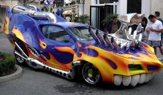 fast cars from the 60s | In and Out burger mobile restaurant was spotted on the 15 south of Los ...