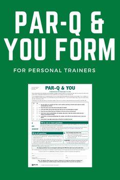 2 Par Q Form from NASM and CSEP organizations. Plus a bonus Par q poster for your gym. Workout Log, Physical Activities, Physics, Trainers, Pdf, Tennis, Athletic Shoes, Physique, Sweat Pants
