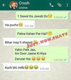 Lol😂😂😂 Funny Texts Jokes, Text Jokes, Funny Jokes In Hindi, Funny School Jokes, Some Funny Jokes, Funny Video Memes, Crazy Funny Memes, Really Funny Memes, Funny Facts