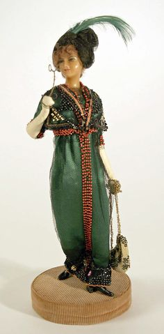 Doll  Lafitte Desirat  (French)  Date: 1909–14 Culture: French Medium: wax Dimensions: [no dimensions available] Credit Line: Gift of Mrs. Walter R. Lehmann in memory of Mr. Walter R. Lehman, 1972 Accession Number: 1972.151.4
