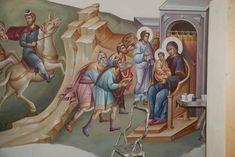 Orthodox Icons, Renaissance Art, Religious Art, Virgin Mary, Little Sisters, Birth, Christ, Scene, Paintings