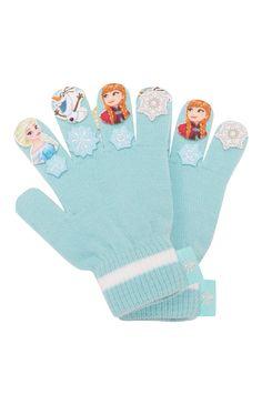 """""""Frozen"""" dolls gloves"""