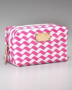 Fun makeup bag durupaper.com #kate_spade
