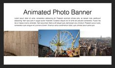 Build an Infinite Scrolling #Photo Banner With #HTML and #CSS