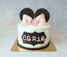 Estrade's cakes: tarta Minnie Mousse