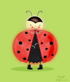 Ladybug character- picked up for Cranes Product