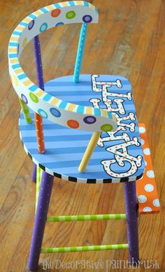 The Decorative Paintbrush, Designs by Mary Mollica: Chairs & Bar Stools