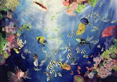Underwater World II Painting by Odile Kidd