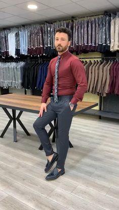 Formal Dresses For Men, Formal Men Outfit, Formal Pants, Indian Men Fashion, Mens Fashion Suits, African Dresses Men, Pantalon Costume, Designer Suits For Men, Slim Fit Suits